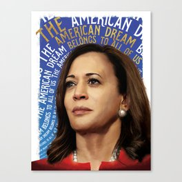 American Dream (Kamala Harris) Canvas Print