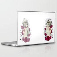 naked Laptop & iPad Skins featuring Naked by Melania B
