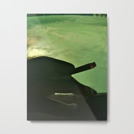 Cigarette and a Hot Tub Metal Print