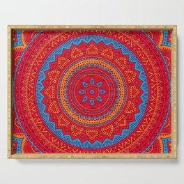 Hippie mandala 59 Serving Tray