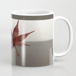 Last Leaf of Autumn Coffee Mug