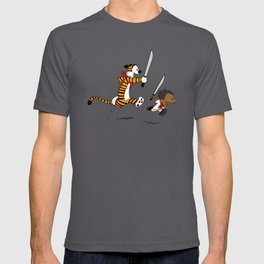 Bonifacio and Hobbes T-shirt