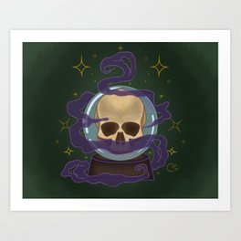 Death Omen Art Print