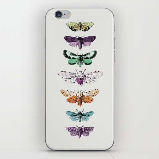 Techno-Moth Collection iPhone & iPod Skin
