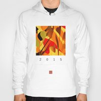 spice Hoodies featuring pumpkin spice by David Mark Lane