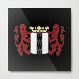 Coat of arms of Delft Metal Print