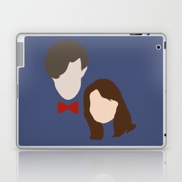 The Eleventh Doctor and the lovely Clara Oswin Oswald Laptop & iPad Skin