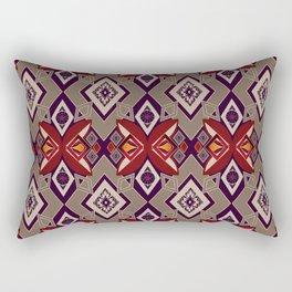 Abstract ornament . Rustic . Rectangular Pillow