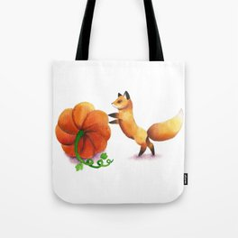 Pumpkin Thief Tote Bag