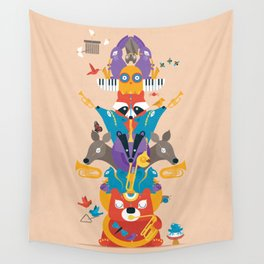 Honk Totem Wall Tapestry