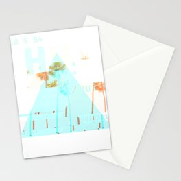 GLITCH NATURE #95: Santa Monica Stationery Cards