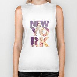 New York New York Biker Tank