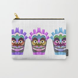 Tribal Tiki Mask Carry-All Pouch