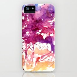 Splatter Horse iPhone Case