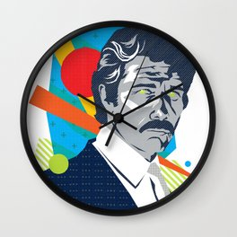 MARTY :: Memphis Design :: Miami Vice Series Wall Clock
