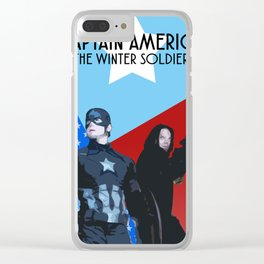 CapBucky fanmade graphic movie poster Clear iPhone Case