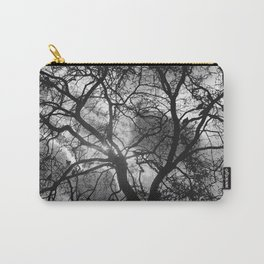 Dramatic London Tree Silhouette Carry-All Pouch