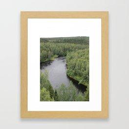 Tallbergs view Framed Art Print