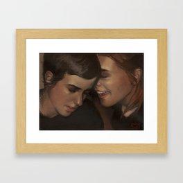 Rumour. Framed Art Print