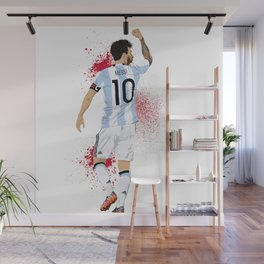 Messi Wall Mural