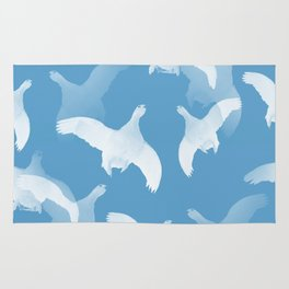 White Birds Against The Blue Sky #decor #society6 #homedecor Rug