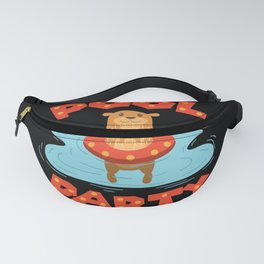 Otter Pool Party Float Summer I Funny design Pool Fan Gift Fanny Pack
