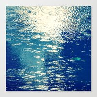 sparkles Canvas Prints featuring Sparkles by Diana Cretu
