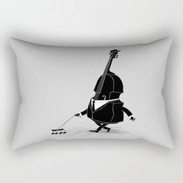 Walking Bass Rectangular Pillow