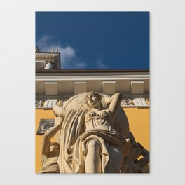 Statue Admiralty Canvas Print