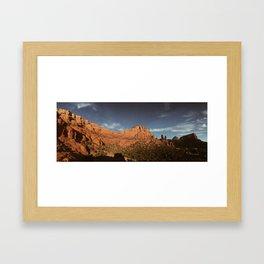 Red Rocks Framed Art Print