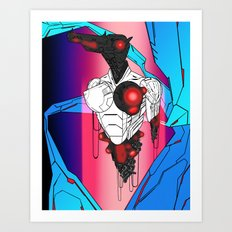 ULTRACRASH 5 Art Print