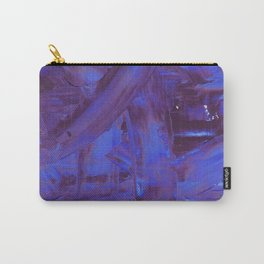 Blurple Mess Carry-All Pouch