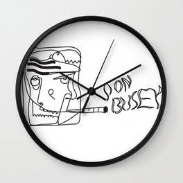 Don Busey Wall Clock
