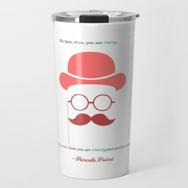 Hercule Poirot Travel Mug