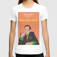 better call saul T-shirts featuring Better call them! Saul Goodman - Ari Gold by Lucho Margolin