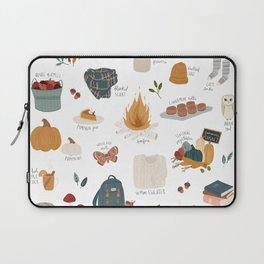 Hello Autumn Laptop Sleeve