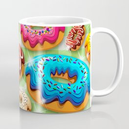 Donuts Party Time Coffee Mug
