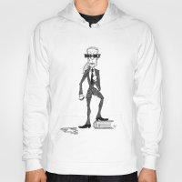 karl Hoodies featuring Karl Lagerfeld by David Cessac