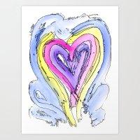 Flow Series #14 Art Print