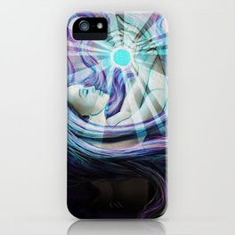 Sleepy Desolation iPhone Case