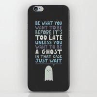 motivational iPhone & iPod Skins featuring Motivational Speaker by Teo Zirinis