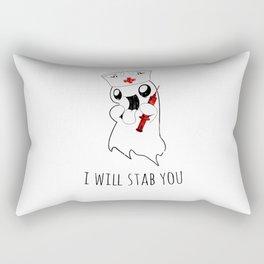 Halloween Costume I Will Stab You Nurse Gift Rectangular Pillow