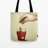 tea Tote Bags featuring Tea by gazonula