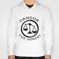 divergent Hoodies featuring Divergent - Candor The Honest by Lunil