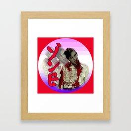 Japanese Zombie Dawn Framed Art Print