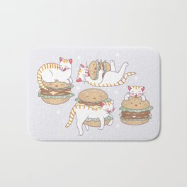 Cat burgers Bath Mat