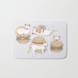 Cat burgers Bath Mat