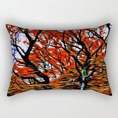 Raging Trees Rectangular Pillow
