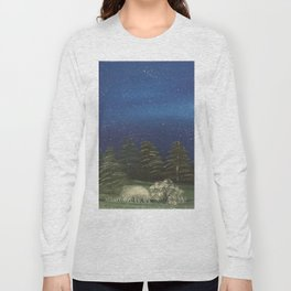 Starry Night - Pure Nature Long Sleeve T-shirt