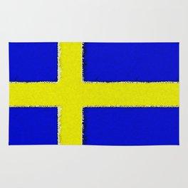 Fancy Flag: Sweden Rug